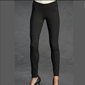 Cabi Black Riding Leggings with Ankle Zippers
